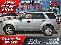 2012 Ford Escape XLT W/ Heated Leather-Sunroof-Alloy Wheels
