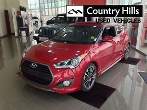 2016 Hyundai Veloster Turbo, Leather, Navi, Clean Car Proof