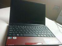 Acer Aspire Laptop .1.6 Dual Core.250g Hard Drive.Wireless +Bag.