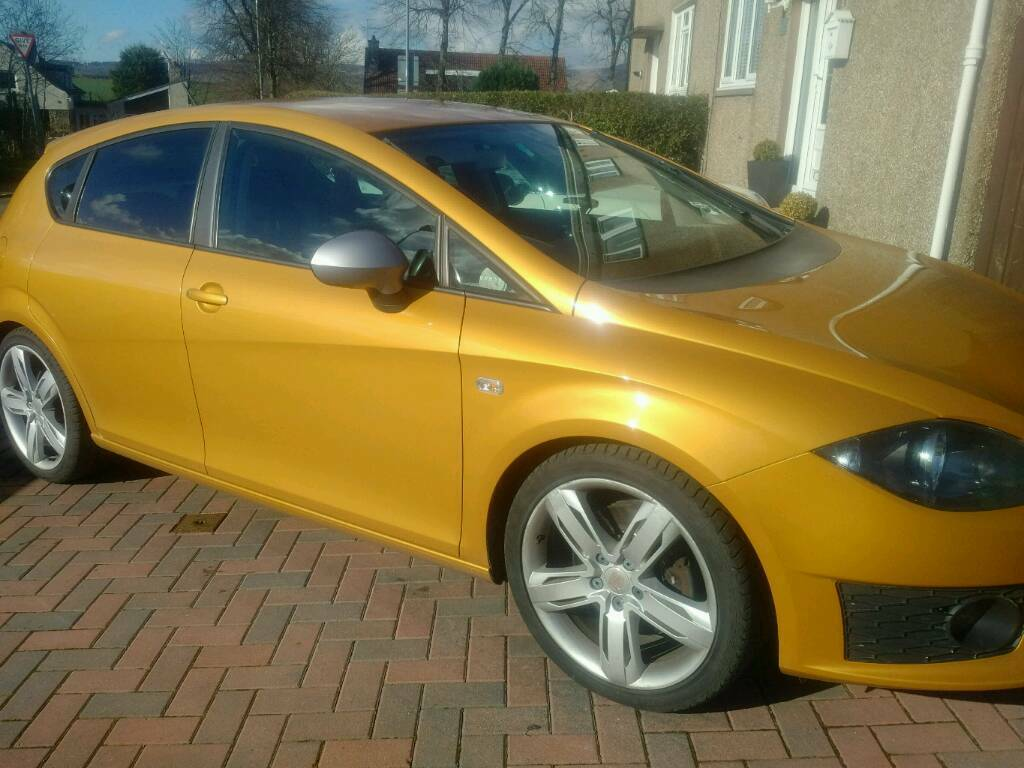 2010 seat leon 1p fr170 tdi in lenzie glasgow gumtree. Black Bedroom Furniture Sets. Home Design Ideas