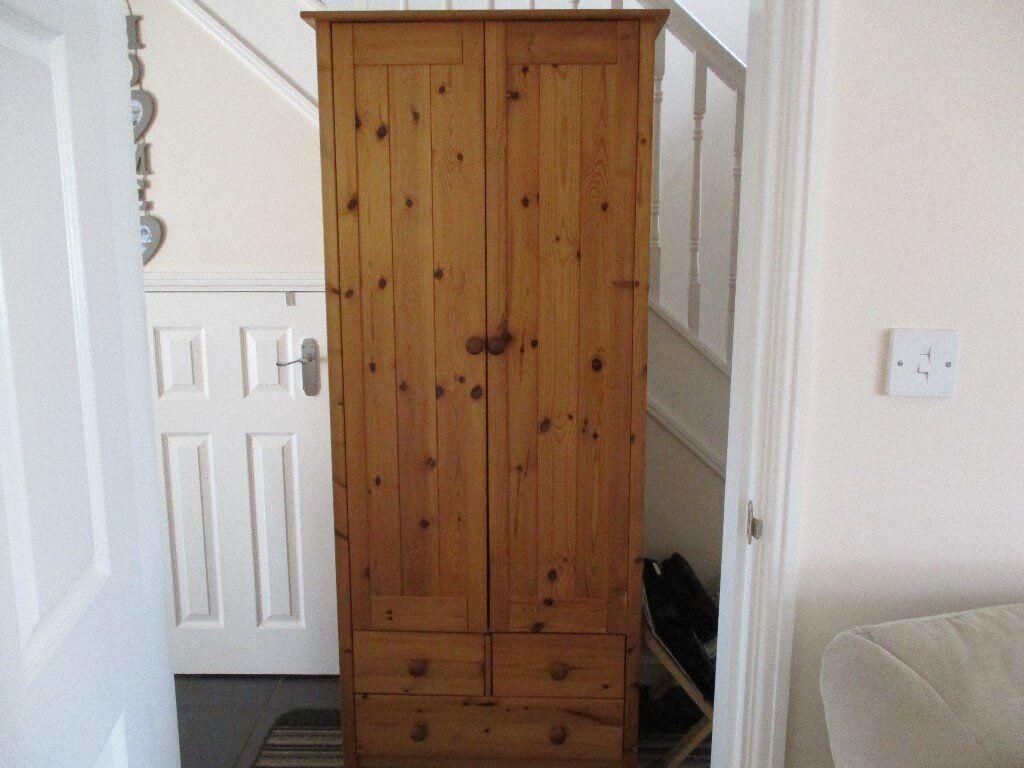 Pine Wood Wardrobe In Taunton Somerset Gumtree