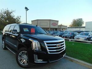 2016 Cadillac Escalade ESV LUXURY PKG NAVIGATION BLACK ON BLACK
