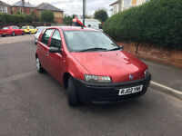 Fiat Punto 1.2 2002 12 Months MOT, good condition. cheap to tax and insure