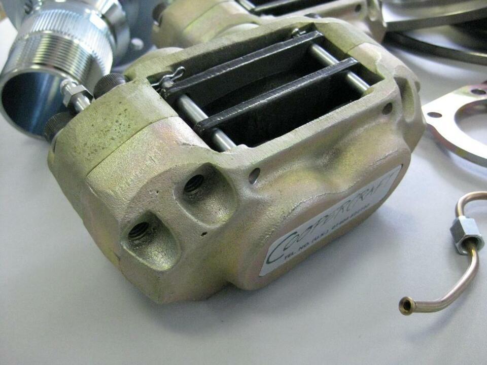 Umbausatz Scheibenbremse vorn Jaguar XK120 XK140 mit Speichenrad in Idstein