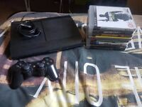 Playstation 3 with 8 Games, 1 Controller, Power cable (No HDMi cable)