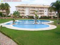 Costa Blanca, Spain. Laguna Golf, 2 bedroom apartment with English TV, A/C, sleeps 4 (SM047)