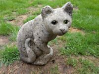 Sitting Cat Garden Ornament