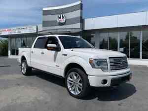 2014 Ford F-150 Limited 4WD Ecoboost Navi Sunroof ONLY 132km $25