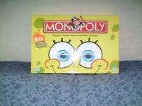 SPONGEBOB MONOPOLY for Sale