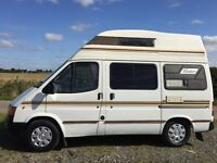 ford transit frontier,only 63k with service history,4 berth,new stand alone awning,shower etc