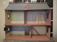 Rare Madeline Dolls House and furniture