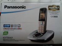 Panasonic digital cordless home phone with answering machine