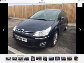 2009 Citroen c4 1.6 spares repair head gasket, low miles