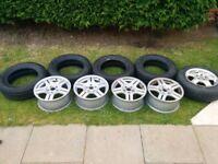 Volkswagen Golf/Passat Alloy Wheels And New Tyres