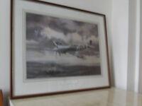 Vintageprint of Spitfire IX's 611 Squadron 1943