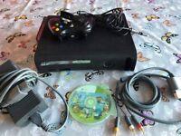 Xbox 360 with Minecraft