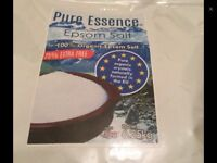 Pure ORGANIC 100% ESSENCE EPSOM SALT 6.25KG GREAT TO RELAX YOUR BODY IN
