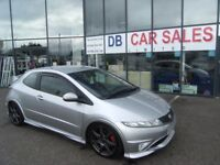 2007 07 HONDA CIVIC 2.0 I-VTEC TYPE-R GT 3D 198 BHP **** GUARANTEED FINANCE **** PART EX WELCOME