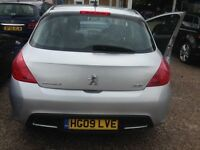 2009 Peugeot 308 SE 1598 Normally Aspirated Manual 5door HATCHBACK