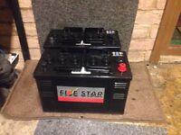 Heavy duty lorry batteries