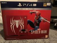 Spider-Man PS4 Pro 1TB