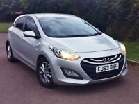 Hyundai i30 2013 1.6 CRDi Blue Drive Active 5dr (ISG),HPI CLEAR ,£0 ROAD TAX ,MILEAGE,QUICK SALE...