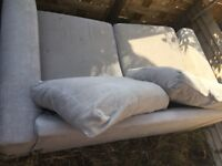 Grey sofa bed for sale