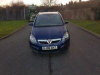 Vauxhall Zafira 1.6 i 16v Life 5dr (06 REG) - 7 SEATER