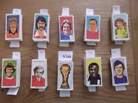620 different football Soccercards from The Sun newspaper