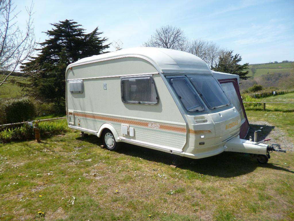 Avondale Mayfly 2 Berth Touring Caravan In Lynton Devon