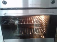 Hygena Diplomat Integrated All Electric Fan Oven with Grill & Hob