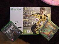Brand new Xbox One S - Fifa 17, Rayman Legends, Assassins Creed Syndicate