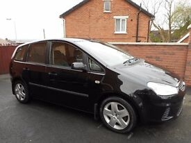 2009 ford focus c max style{full mot,just serviced,68k,finance ava,12 months warranty}