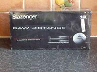 Brand new sealed 18 pack slazenger raw distance golf balls.