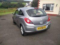Vauxhall corsa breeze 08