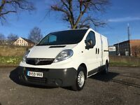 2010 2.0 diesel 115bhp Vauxhall Vivaro FULL SERVICE NEW LONG 12 MONTHS MOT like Trafic and Primastar