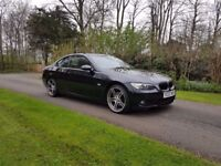 2007 BMW 320D M SPORT,6 SPEED MANUAL,ONLY 81K MILES ONLY!!!,2 KEYS,07707755411