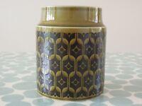 Hornsea Heirloom Storage/utensil Jar (no lid) 1974