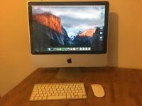 "iMac 20"" 8GB ram - Intel core 2.66GHz - Wireless keyboard - Wireless Magic mouse"