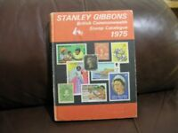 Stamp Collecting Stanley Gibbons British Commonwealth Stamp Catalogue 1975