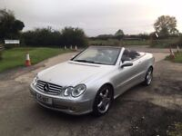 MERCEDES-BENZ CLK320 ELEGANCE AUTO CONVERTIBLE - ONLY 1 OWNER -FULL SERVICE-FREE DELIVERY-PX WELCOME