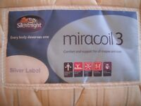 Double Silentnight mattress. Nearly new