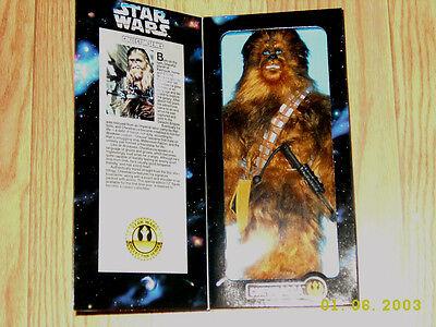 "NIB Star Wars Chewbacca Collector Series 12"" Poseable Figure"