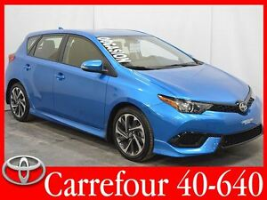2016 Scion iM Bluetooth+Camera de Recul Automatique