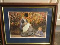 Mother and Child. Claude Monet.