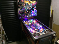 METEOR Pinball By Stern - Refurbished With LED's, Fullly Working With No Faults