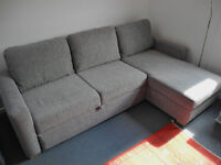 John Lewis Sacha corner sofa/king size sofa bed - Excellent condition