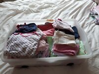 Bundle baby girls clothes 3-6 months