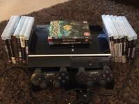 PS3 console plus games