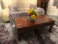 Coffee table & 1 side table